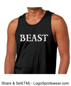 Next Level Mens Jersey Tank Design Zoom
