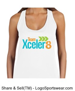 All Sport Ladies Performance Racerback Tank Design Zoom